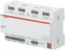 Интеллектуальные инсталляционные системы EIB/KNX IO/S8.6.1.1 Модуль входа/выхода, 8-канальный ABB