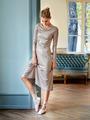 Электронная выкройка Burda - Платье с расклешенной юбкой 116 B