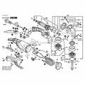 Винт с цилиндрической головкой к GWS 14-125 CI/1400С, BOSCH (1603415005)