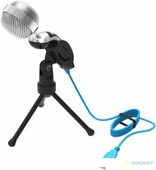 Микрофон Ritmix RDM-127 (серебристый)