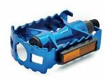 Педали алюминиевые Vinca sport VP 04А blue