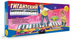 """Знаток Музыкальный коврик """"Гигантский напольный синтезатор"""""""