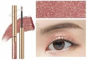 Тени для глаз сияющие The Saem Eco Soul Sparkling Eye (Bronze Gold RD01 )