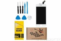 Набор для ремонта iPhone 6 ZeepDeep: дисплей белый, защитное стекло, набор инструментов, пошаговая инструкция