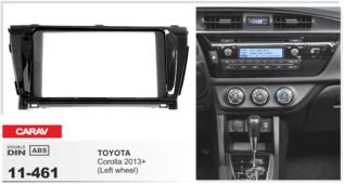 CARAV 11-461 - TOYOTA Corolla 2013+ переходная рамка