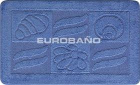 Комплект ковриков для ванной и туалета EUROBANO SYMBOL 60*100+60*50 Морская жизнь
