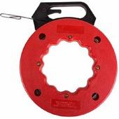 Протяжка кабельная Rexant стальная плоская в кассете 15 м 47-6315