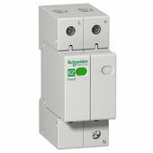 Устройство защиты от импульсных помех (УЗИП) 1P+N, тип 2, 20kA EASY 9 Schneider Electric, EZ9L33620