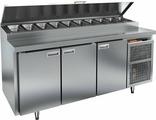 Холодильный стол для пиццы HICOLD PZ2-111/GN