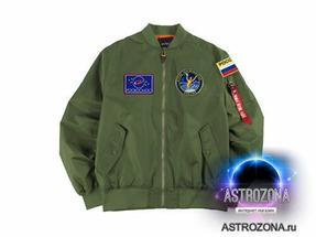 Куртка Роскосмос [Зеленая] (XL)