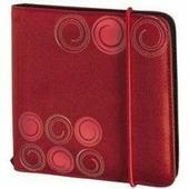 Портмоне Hama H-95669 Up to Fashion для 24 CD/DVD (красный) - Альбом, коробка, стойка для CD, BD диска