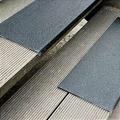 Противоскользящая пластина с углом, среднее зерно, черный (230 x 2500 x 30мм) {GKMS2302500}