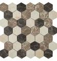 Мозаика IMAGINE LAB мозаика Мозаика SHG4488P из натурального мрамора