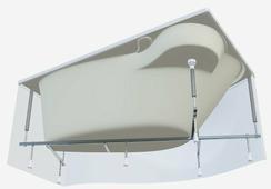 Каркас для ванны 1Marka Gracia 170 x 100 170 / 100 см