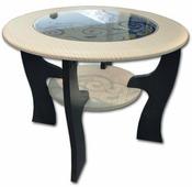 Журнальный столик Олмеко Маджеста-6 дуб линдберг | 70 дуб линдберг 70 см