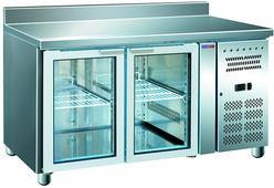 Холодильный стол Cooleq GN2200TNG бортик стеклянная дверь