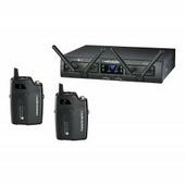 AUDIO-TECHNICA ATW1311 - радиосистема, 8 каналов 2.4 MHz с двумя поясными передатчиками
