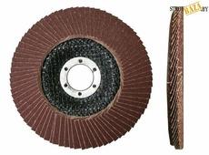 Круг лепестковый торцевой КЛТ1 (прям.) Professional 125х22 Р60 80 Луга
