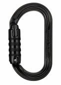 Карабин Petzl Oxan Triact-Lock black черный