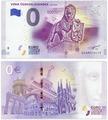 Банкнота 0 евро (euro) «Создание Чехословакии» 2018 (NEW) (VZNIK CESKOSLOVENSKA) A402003