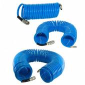 Шланг полиуретановый спиральный с фитингами FUBAG 8х12 10 м 170305