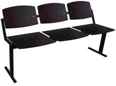 """Кресла для актовых залов Alina СTC SH """"Школьник М"""" (секция 3 места)"""