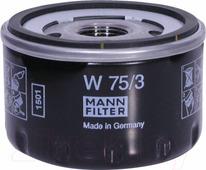 Масляный фильтр Mann-Filter W75/3