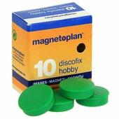 Магниты Hobby, цвет: зеленый, 10 шт