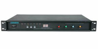 DSPPA MP-9866 Центральный блок управления дискуссионной системой, 3 линии по 35 консолей. Подавитель