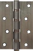 Петля дверная универсальная стальная Punto 4B 100х70х2.5 AB бронза