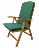 Садовое кресло Sundays BALI TGF-088 с подушкой, тик