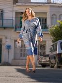 Электронная выкройка Burda - Платье с рукавами реглан 125