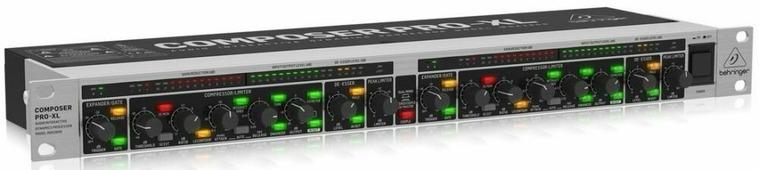 Behringer MDX2600 V2 2-канальный экспандер/ компрессор/ пик-лимитер с энхансером, де-эссер и ламповы