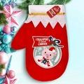 """Мешок-варежка для подарков """"Подарок от милой Свинки!"""""""