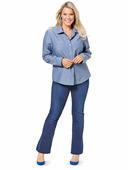 Электронная выкройка Burda - Блузка-рубашка 6614
