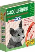 БИОошейник Доктор ZOO для кошек и собак, от блох и клещей, красный, 35 см