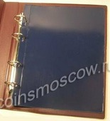 Лист разделитель размера OPTIMA для альбомов, (Черный цвет). Россия