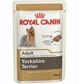 Корм ROYAL CANIN Yorkshire Terrier Adult 85г паштет для собак породы йоркширский терьер старше 10 мес