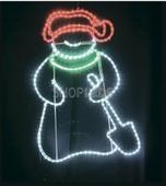 Фигурка снеговик NEON-NIGHT