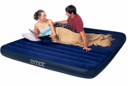 68755 Надувной матрас Intex CLASSIC DOWNY AIRBED 183х203х22см (King)