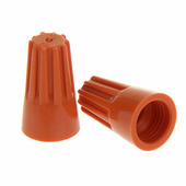 Соединительные изолирующие зажимы СИЗ-3 КВТ, оранжевые {47526/ 79497} (100 шт.)