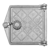 Дверка поддувальная ДП-1, «Варвара» Рубцовское литье dp-1-vr