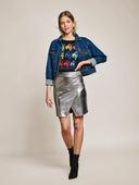 Электронная выкройка Burda - Короткая юбка из трикотажа 6 A
