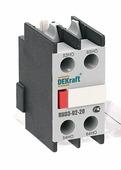 Приставка контактная фронтальная доп.контакты 2НО DEKraft Schneider Electric, 24101DEK