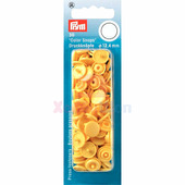 Кнопки Color Snaps пластик 30 шт банан Prym 393112