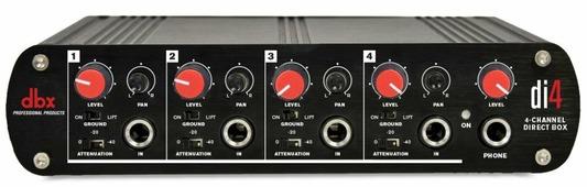 dbx DI4 4-канальный директ-бокс
