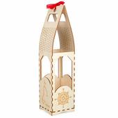 Заготовка для декорирования Buratini Подарочная упаковка под бутылку, DZ20021
