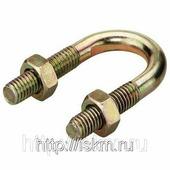 Хомут U-образный болт-скоба для крепления труб 1/4 — 8 DIN 3570
