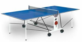 Теннисный стол START LINE Compact Light LX с сеткой ЛДСП 16 мм, на роликах + сетка с креплениями в подарок