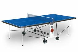 Теннисный стол START LINE Compact LX-2 с сеткой (лмдф 16 мм, усиленный, складной) + сетка с креплениями в подарок